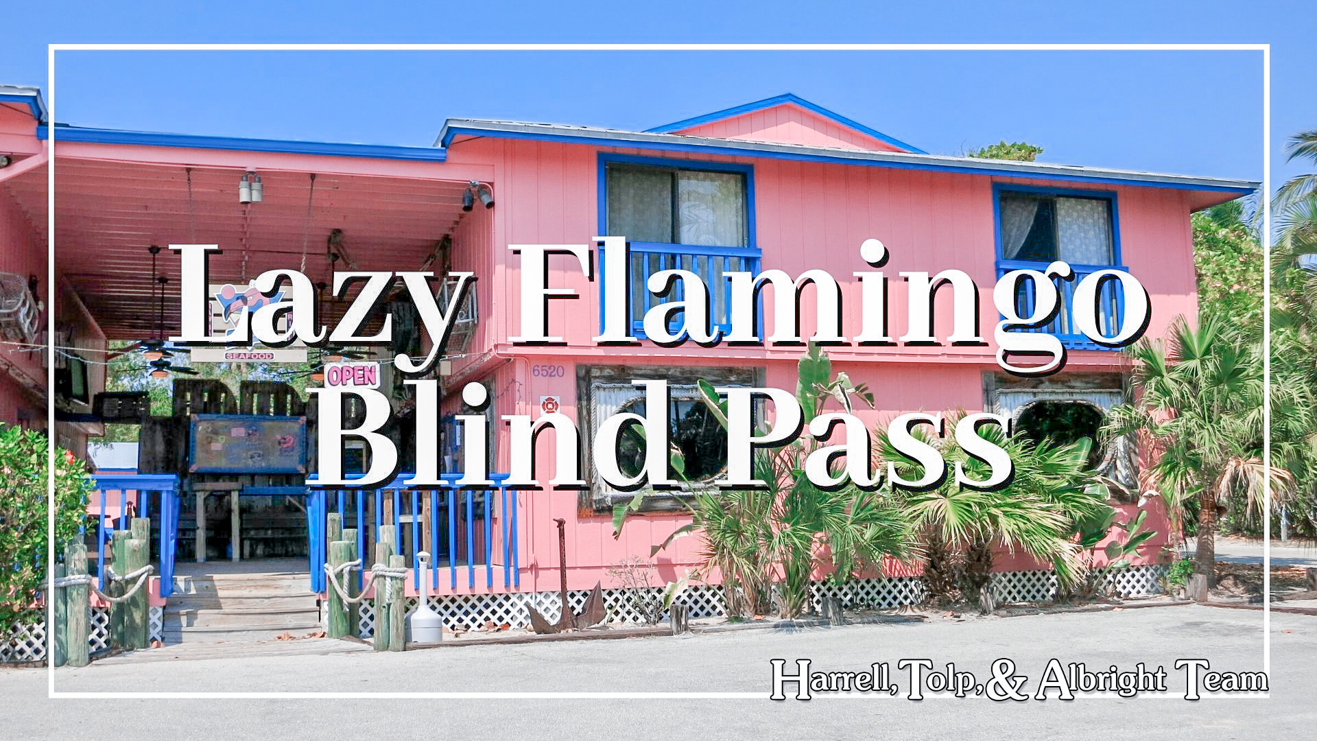 Lazy Flamingo Blind Pass