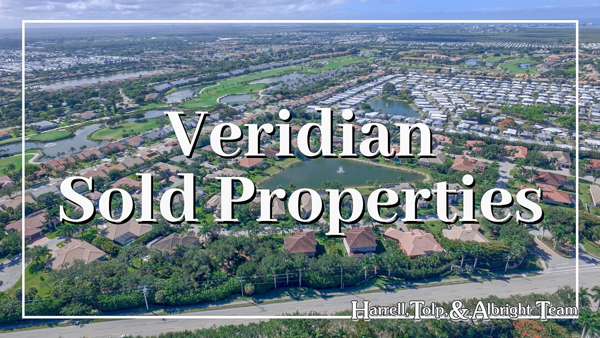 Veridian Solds