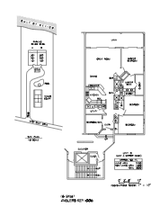Anglers Key Floor Plan and Site Plan