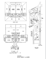 Beach Road Villas Floor Plans and Site Plan