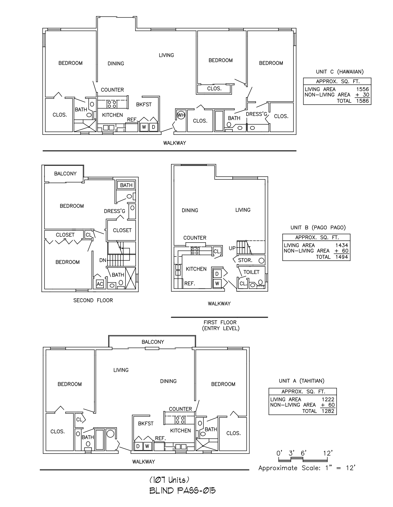 Blind Pass Floor Plan