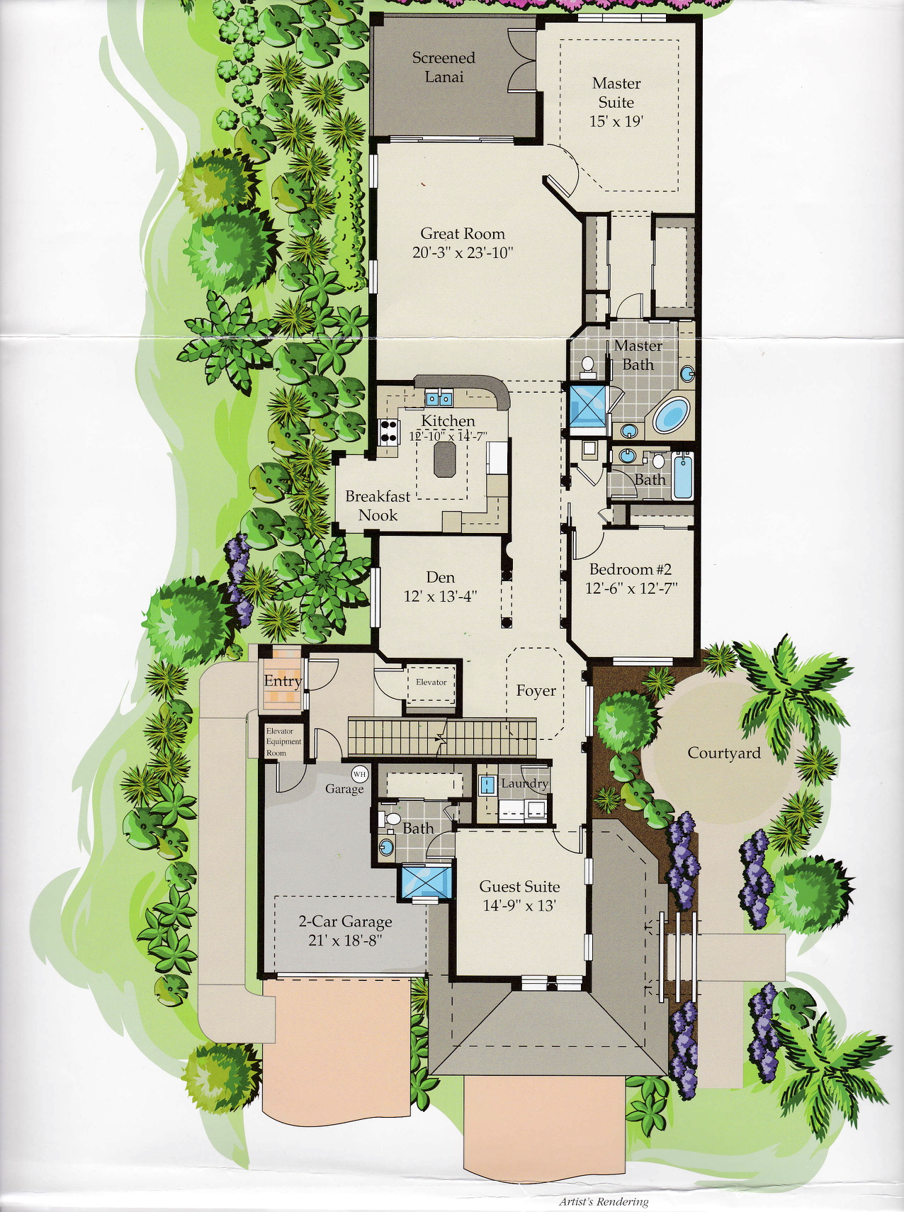 Coronado Upstairs Floor Plan
