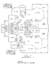 Sanctuary Golf Villages Floor Plan