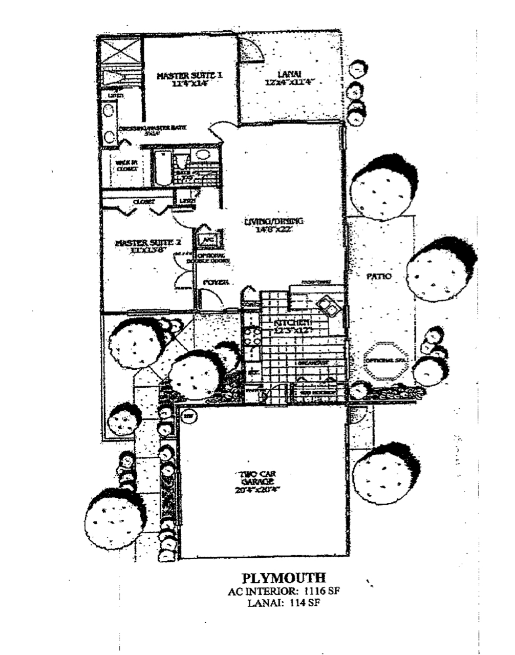 Mill Pond Floor Plan
