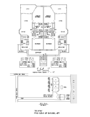 Pine Cove Floor Plans and Site Plan