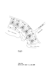 Sanctuary Golf Villages Site Plan