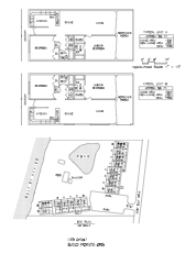 Sand Pointe Floor Plan and Site Plan