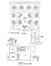 Sanibel Arms West Floor Plan and Site Plan