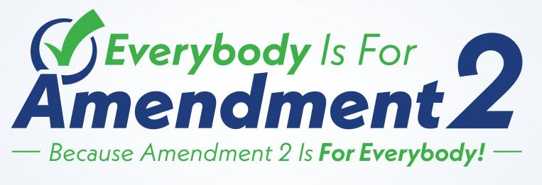 Vote YES on Amendment 2