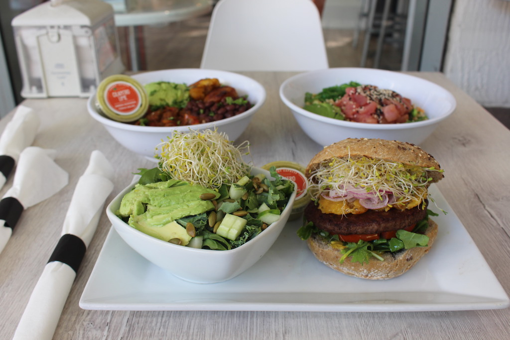 carrot express lunch plates