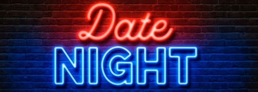 date night neon light