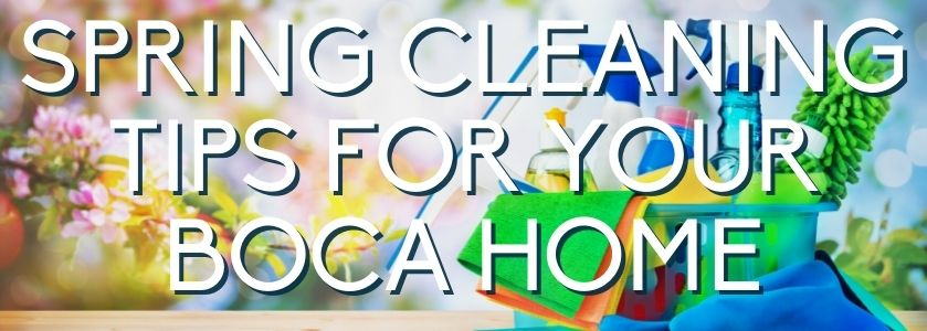 guide to spring cleaning | blog header image
