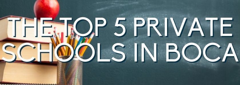 the top 5 private schools in boca | blog header image