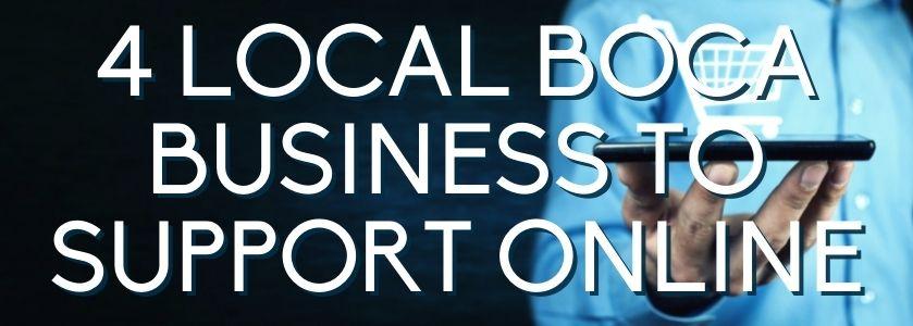 support local businesses online | blog header image