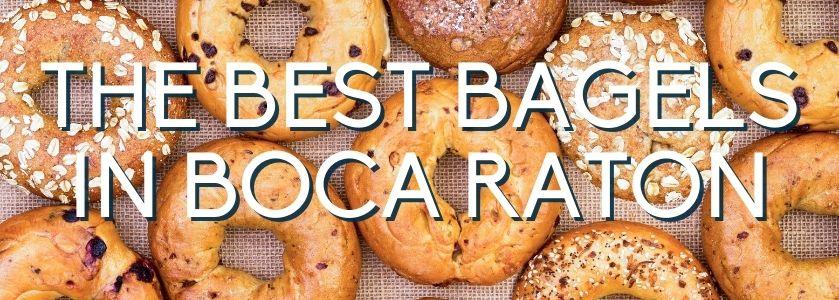 the best bagels in boca raton | blog header image