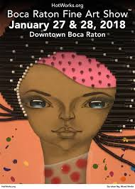 Boca Raton Fine Art Show in Downtown Boca Raton