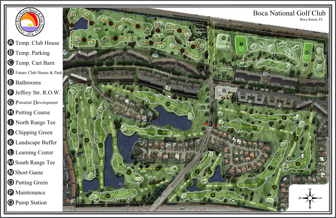 Boca National Golf Club Project Plans