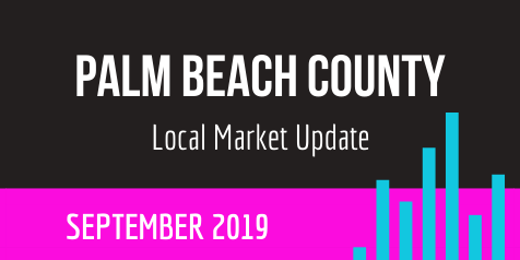 Palm Beach County Local Real Estate Market Update-September 2019