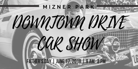 Mizner Park Downtown Drive Car Show