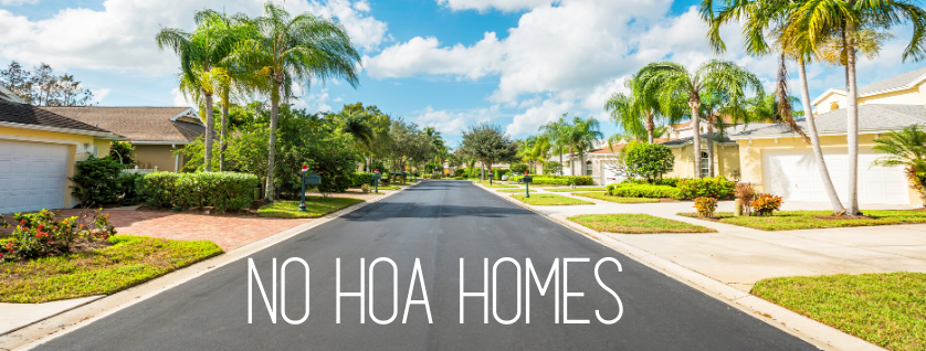 Boca Raton No HOA Homes