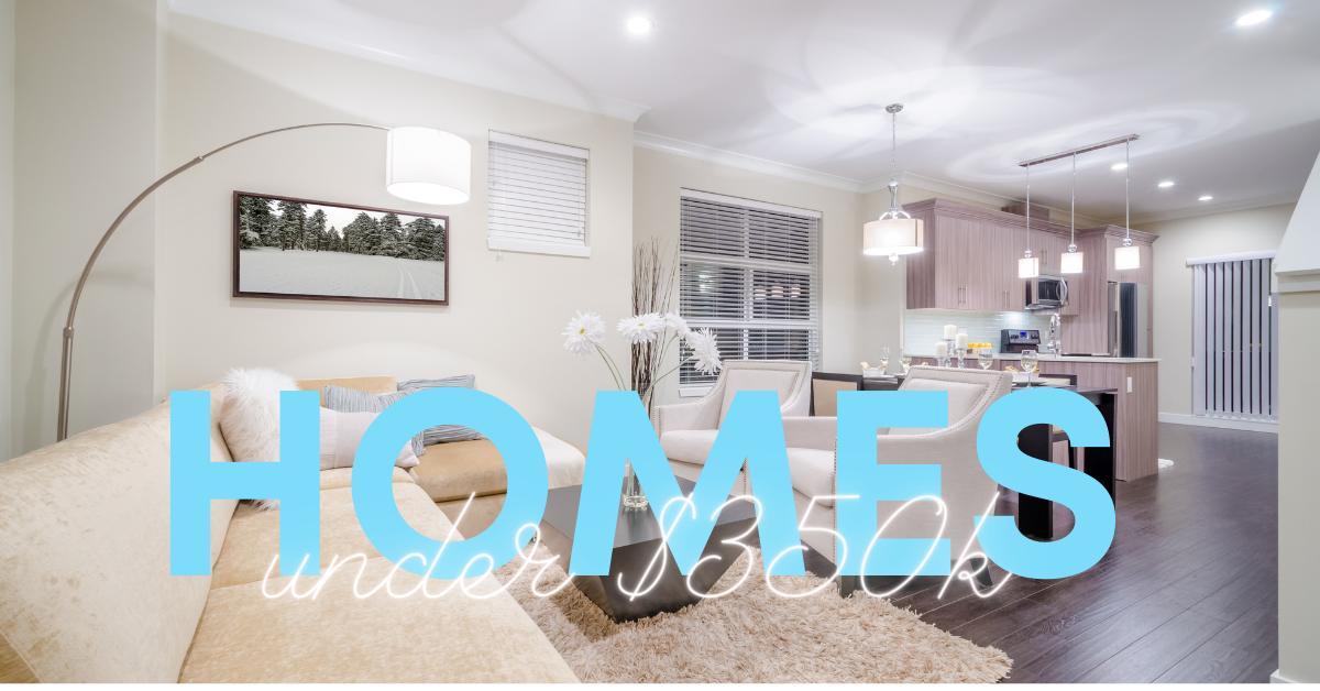 Homes for Sale Under $350k