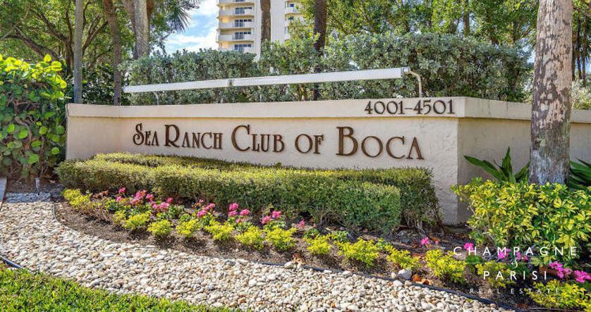 Sea Ranch Club of Boca Entrance