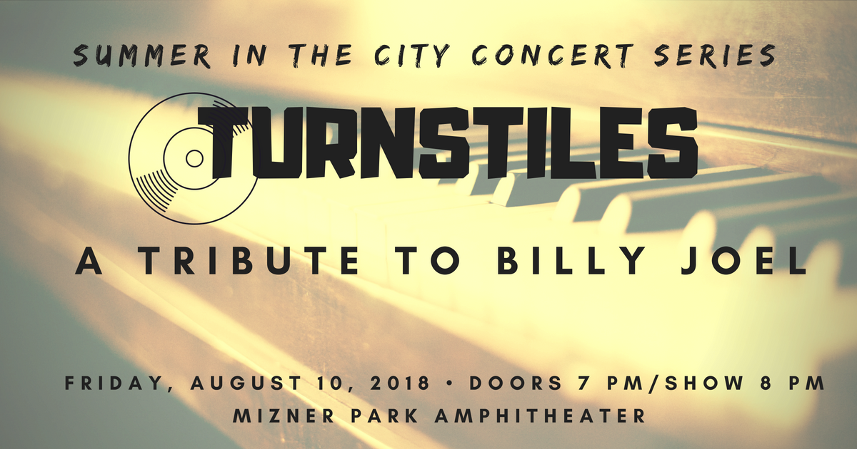 Free concert Turnstiles: A Tribute to Billy Joel