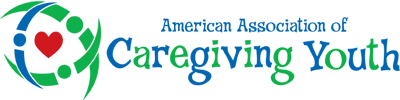 american association of caregiving youth | horizontal logo