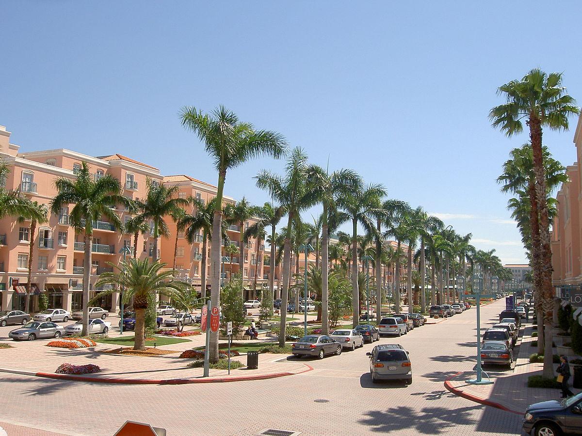 sunny boca raton beach walk