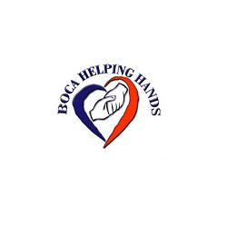boca helping hands | square logo