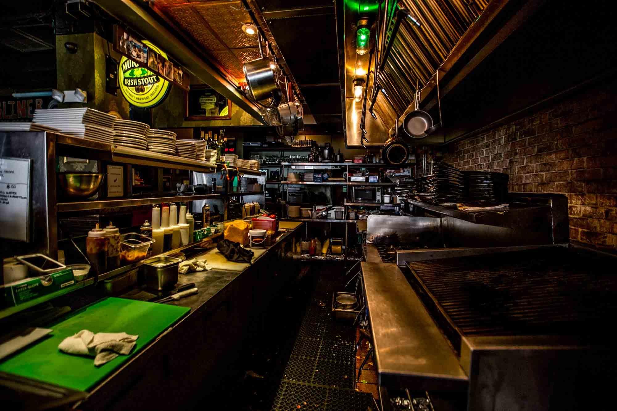 the interior of the dubliner restaurant