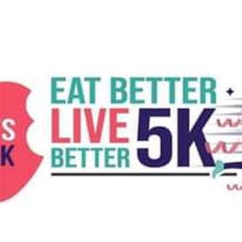 eat better live better 5k logo