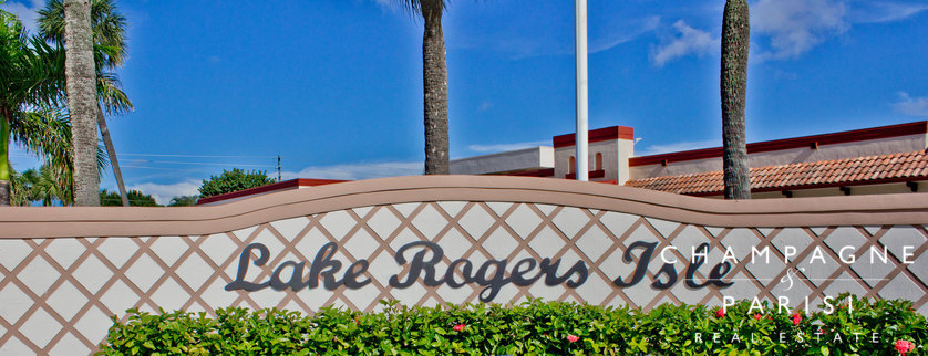 Lake Rogers Boca Raton