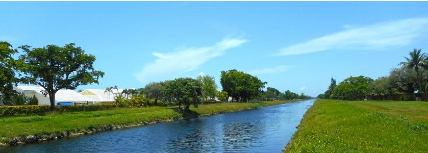 south florida canal system