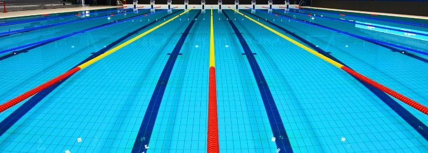 olympic lined swimming pool