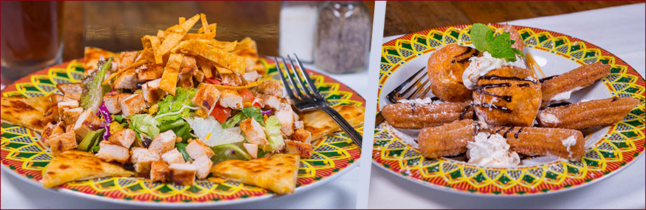 tijuana taxi restaurant | entree platter