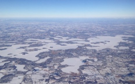 Lake Minnetonka in the Winter