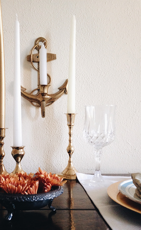 Fall Place Setting - Lake Living Inspired