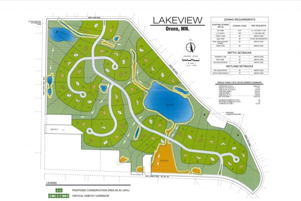 Lakeview Golf Course Development Plans - Orono MN