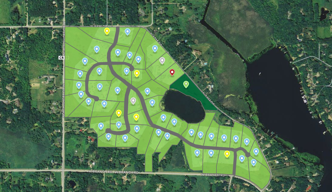 Lakeview Orono Development Map