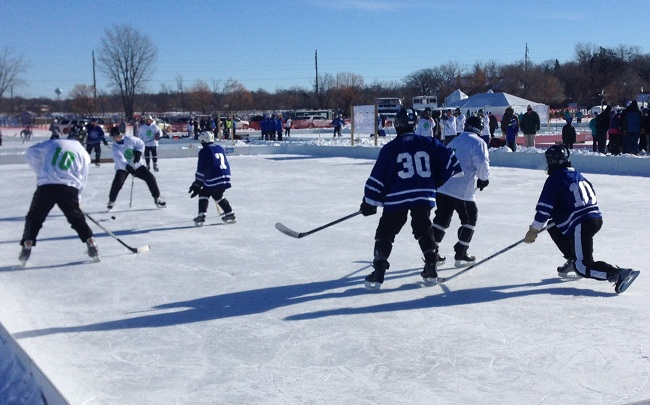 Pond Hockey - Lake Minnetonka