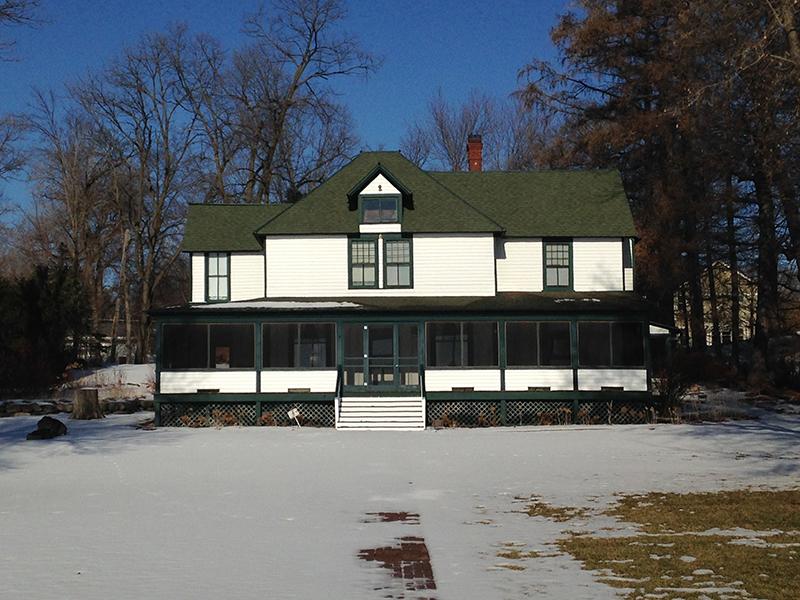 The Thompson House awaits summer
