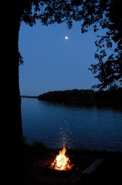 Lake Minnetonka Campfire - Minnetrista Minnesota