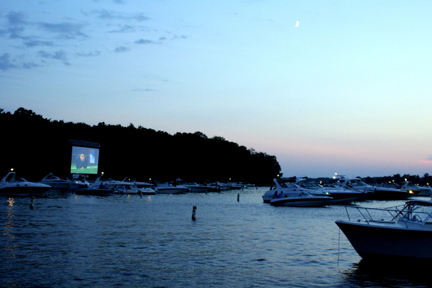 Big Island Movie Night - Lake Minnetonka