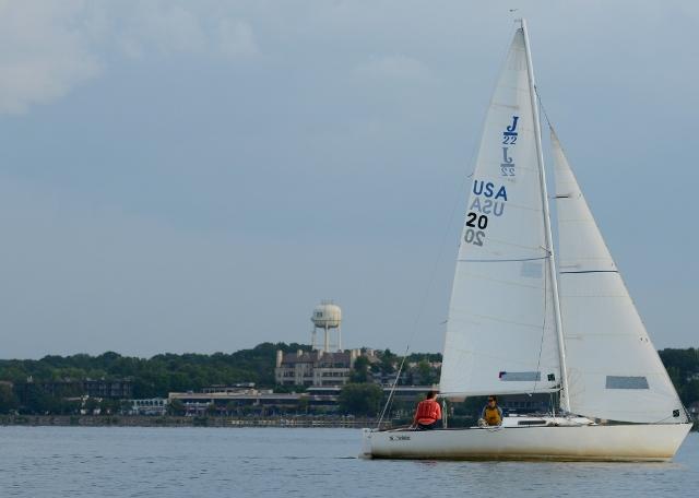 Sailing Wayzata Bay