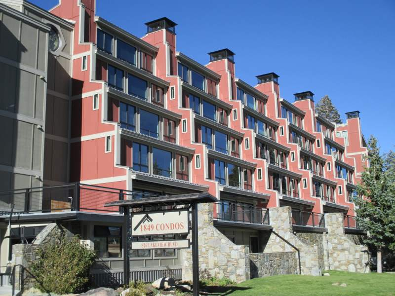 1849 Condos Exterior at Canyon Lodge