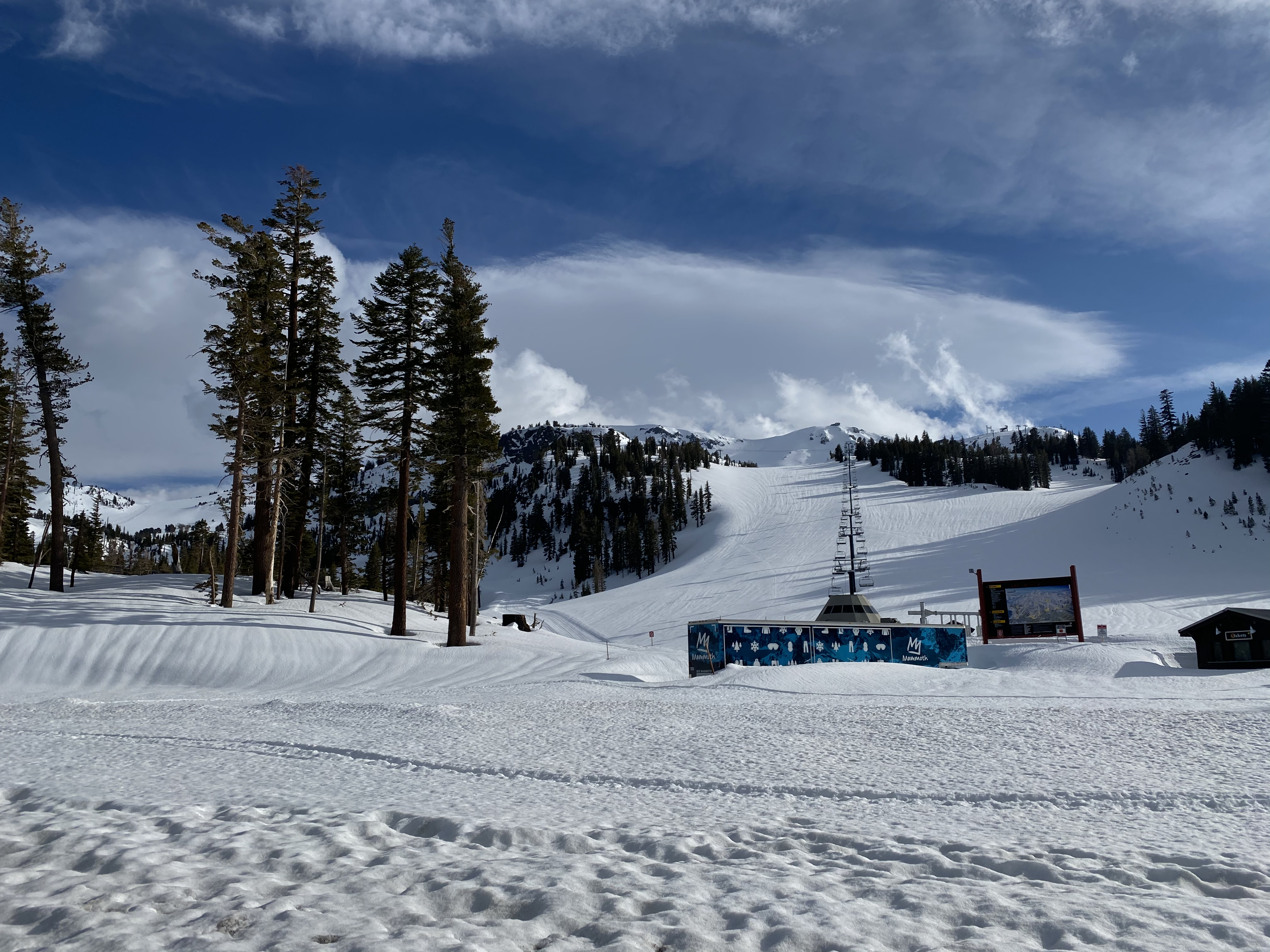 Mammoth Mountain Closed for Season Stump Alley Express