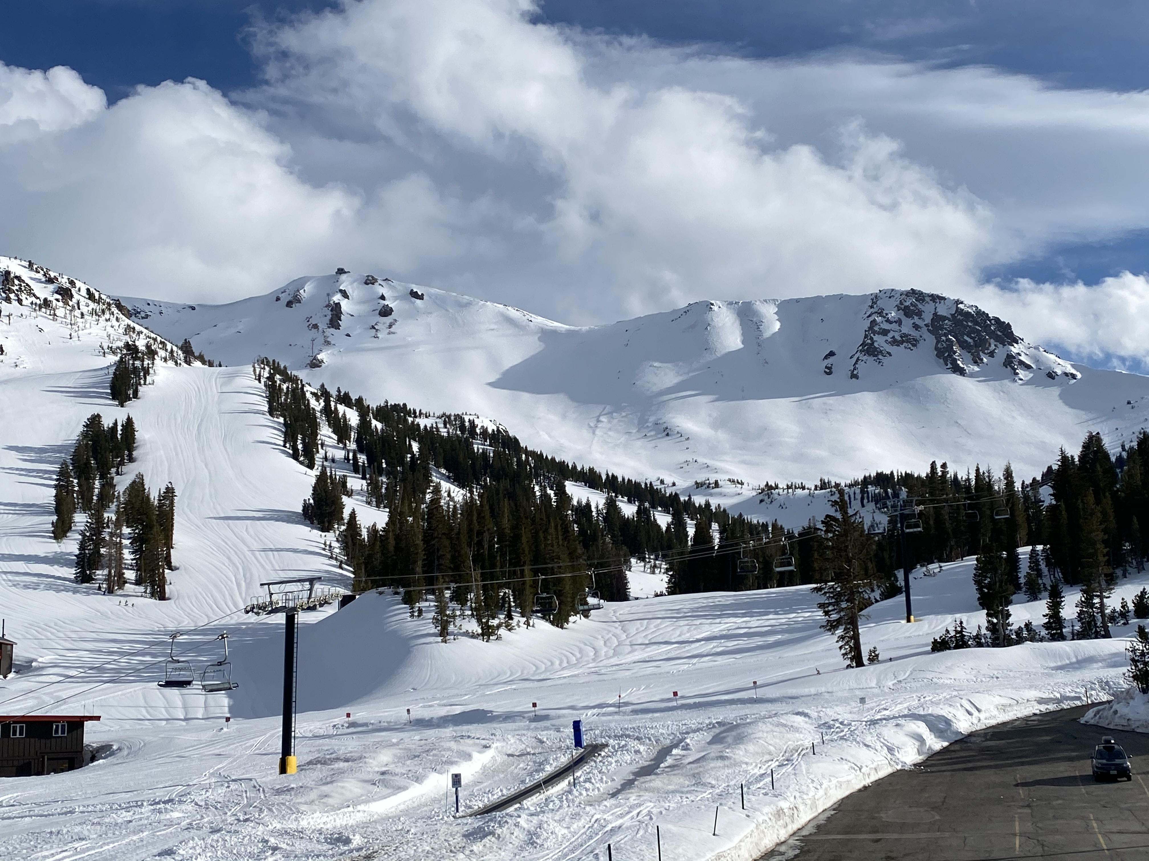 Mammoth Mountain closed until further notice with feet of new snow