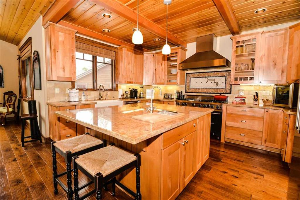 320 Twin Lakes Mountain Crafstman Home Gourmet Kitchen