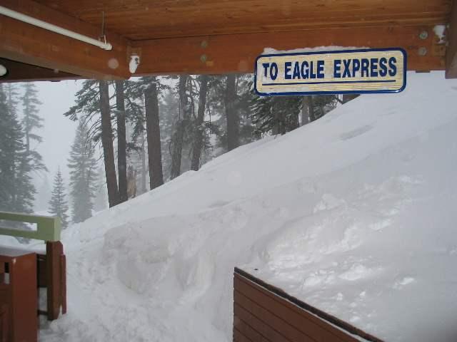 Bridges Ski In Ski Out Condos in Winter on Ski Slope